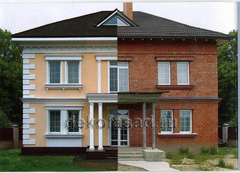 Купить материал для отделки фасадов частных домов
